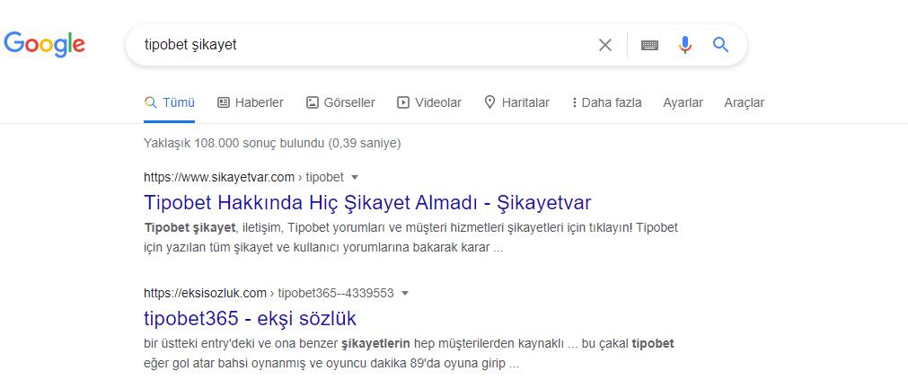 Tipobet Şikayet